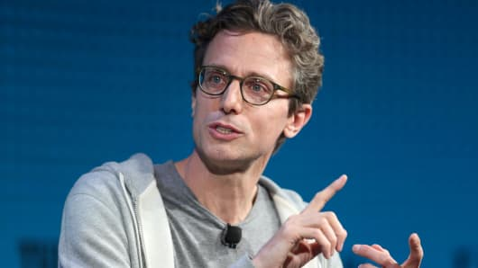 Jonah Peretti, Founder and CEO, Buzzfeed, speaks at the Wall Street Journal Digital Conference in Laguna Beach, California, U.S., October 18, 2017.