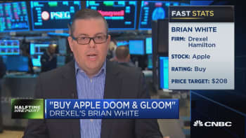Buy the Apple doom and gloom: Drexel's Brian White