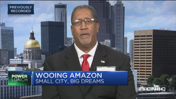 Mayor Jason Lary: We'll rename part of our city Amazon, Georgia to get HQ2