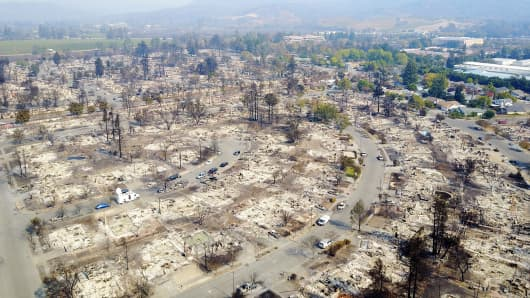 Progress Made In Fight Against Deadly California Wildfires