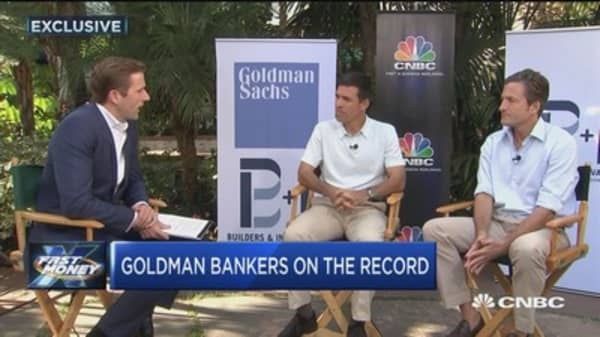 Goldman Sachs' co-heads of investment banking discuss M&A and IPOs
