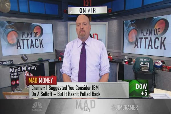 Cramer shares his playbook for maneuvering the market sell-off