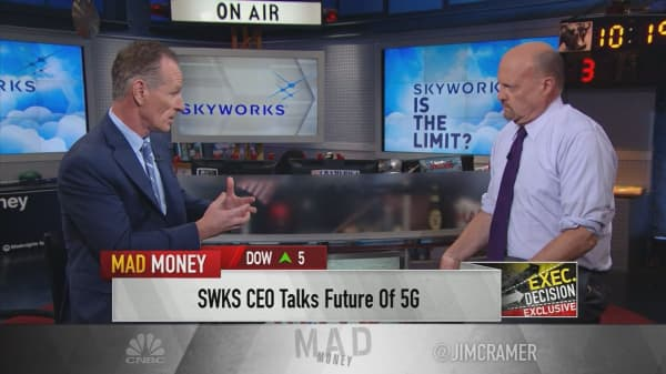 Skyworks Solutions CEO: '5G is going to solve' the world's 'digital traffic jam'
