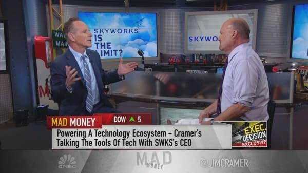 Skyworks Solutions CEO: 5G will solve world's 'digital traffic jam'