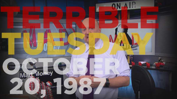 Cramer Remix: Why October 20th, 1987 was worse than Black Monday