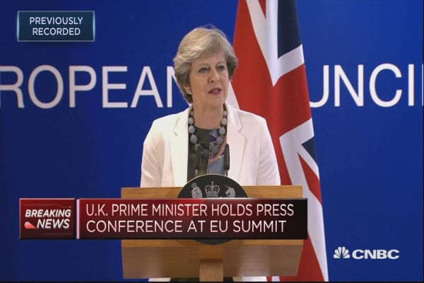 Cooperation between UK and EU will not stop after 2019: Theresa May