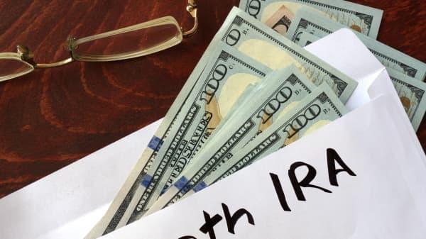 Roth IRA envelope