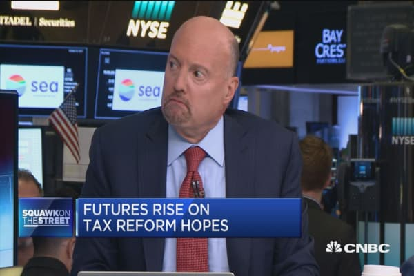 Congress can pass a 'modest' tax cut: Jim Cramer
