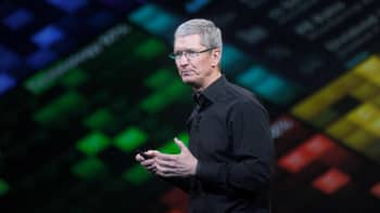 Tim Cook, chief executive officer of Apple Inc.