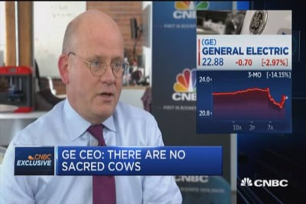 GE CEO John Flannery on turnaround plans: My track record stands on its own