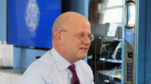 John Flannery, chief executive officer of GE.