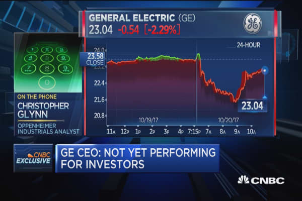 Oppenheimer analyst: It's a 'show me' story at General Electric