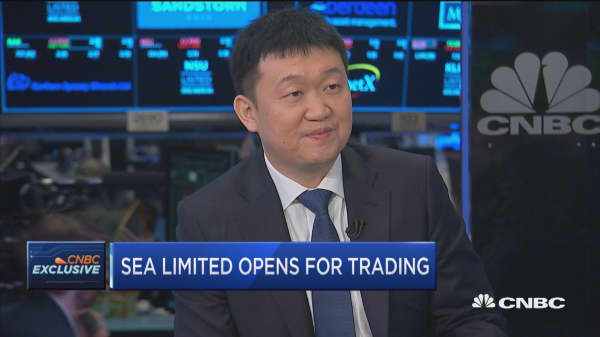 Singapore's Sea Limited opens for trading on NYSE