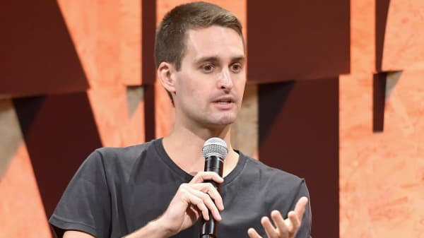 Co-Founder and CEO of Snap Inc. Evan Spiegel.