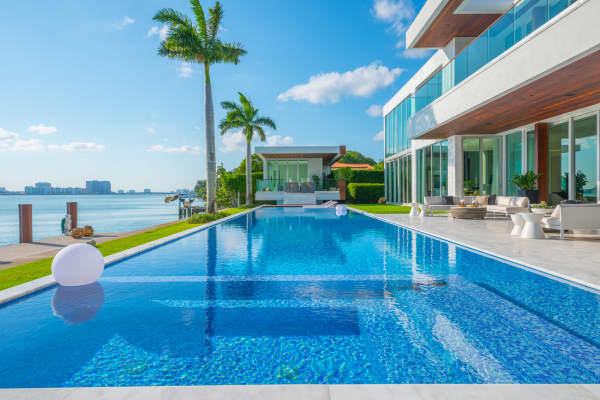 The $29 million Miami mansion seen in Rihanna's music video.