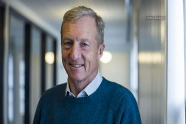 Tom Steyer launches Trump impeachment campaign