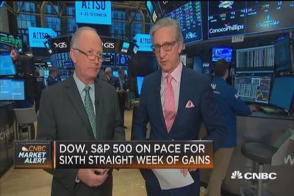 Dow, S&P 50,, Nasdaq hit record intraday highs