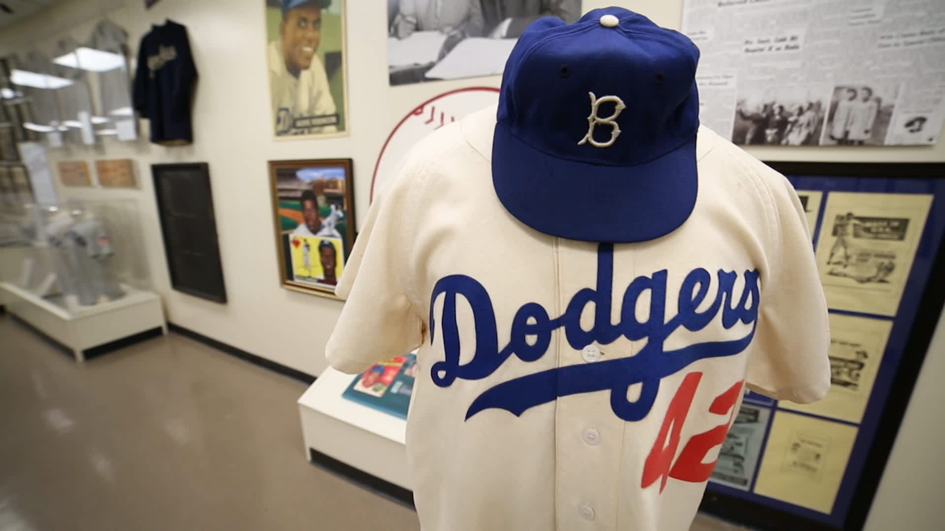 a3483e14faa See Dodgers fan s rare baseball memorabilia collection
