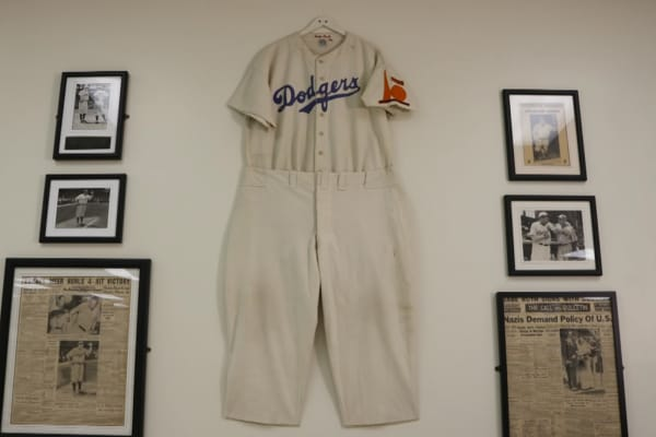 Babe Ruth's coaching uniform.