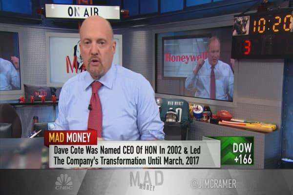 Cramer: Will Honeywell split pay off?