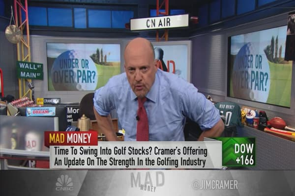 Cramer: Stay out of the rough with these 2 golf stocks