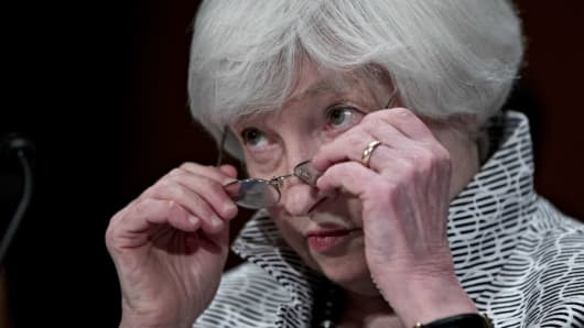 U.S. Federal Reserve Chair Janet Yellen