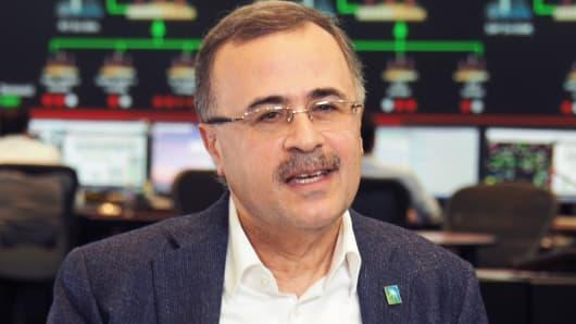 Amin al-Nasser, Chief Executive of state oil company Saudi Aramco.