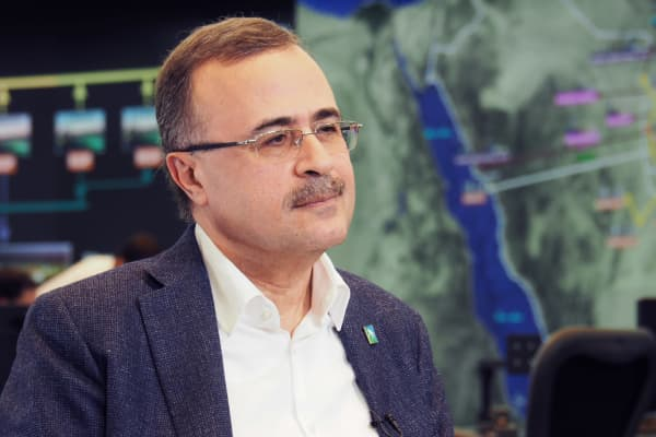 Amin al-Nasser, Chief Executive of state oil company Saudi Aramco.