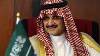 Saudi Arabian Prince Al-Waleed Bin Talal bin Abdulaziz al Saud.
