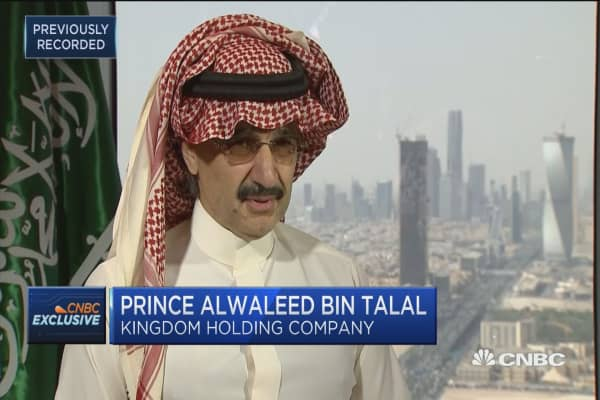 Prince Alwaleed Bin Talal: Oil, our 'treasure' needs to support the country