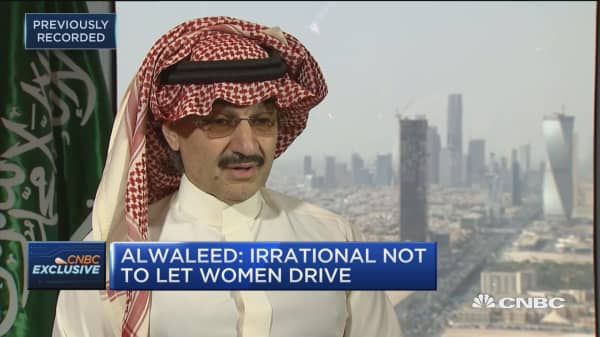 Prince Alwaleed Bin Talal:  President Trump has his own way of governing