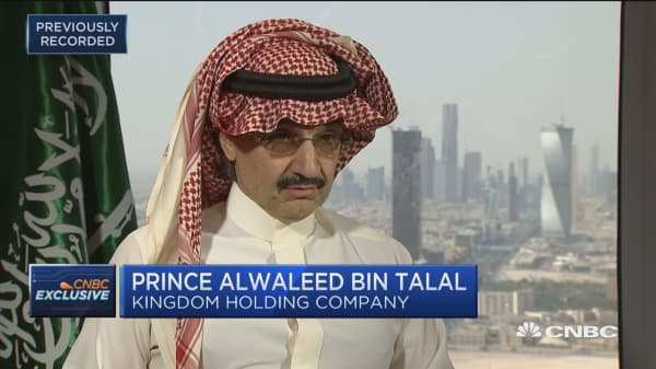 Prince Alwaleed Bin Talal: Dependence on oil is dropping