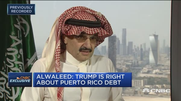 Prince Alwaleed Bin Talal: Lyft was a better entry point than Uber