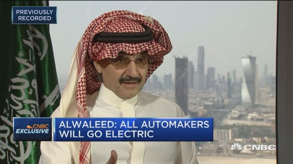 Prince Alwaleed Bin Talal: Big tech companies should not be broken up