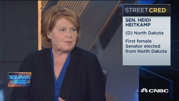 Sen. Heitkamp: 401(k) cap could 'devastate' families