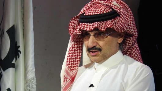 Saudi Prince Alwaleed bin Talal.
