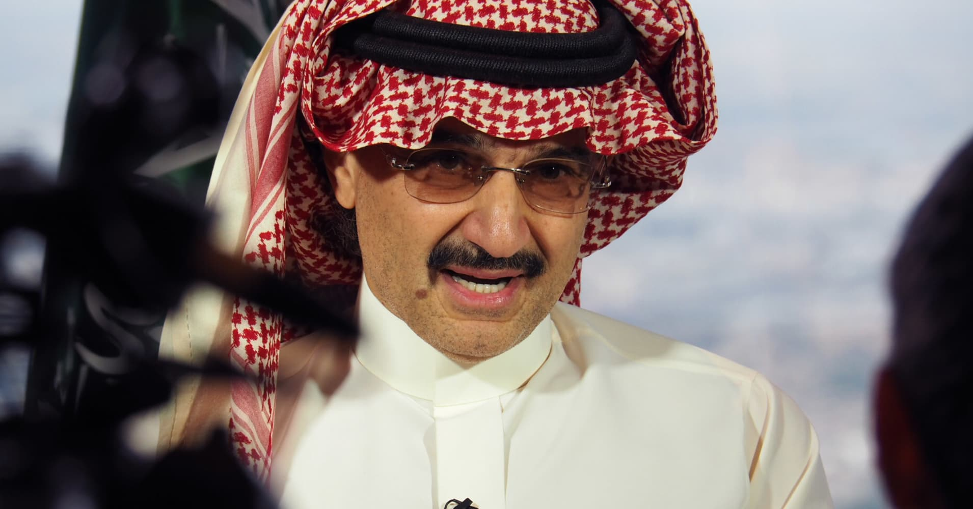 Saudis reportedly wielding veto power over top investor Prince Alwaleed and Kingdom Holdings