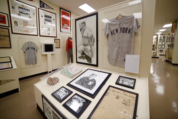 The $30 million sports memorabilia collection