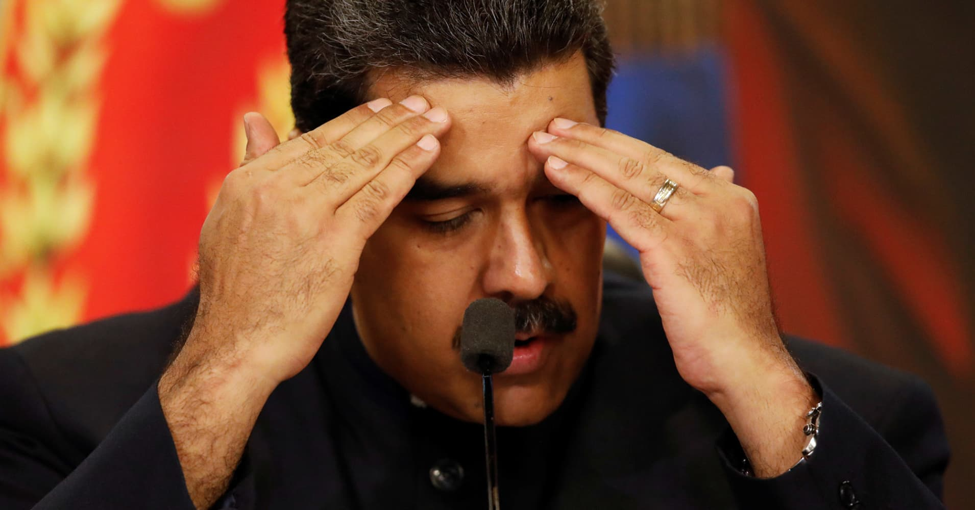 Venezuela's unpaid debt just grew to nearly $600 million, days before a make-or-break bill