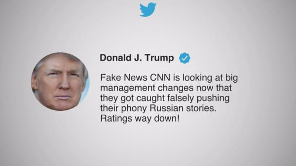 CNN takes on White House over fake news criticism: Apples are not bananas
