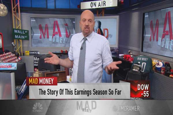 Earnings season winners driven by low hopes: Cramer