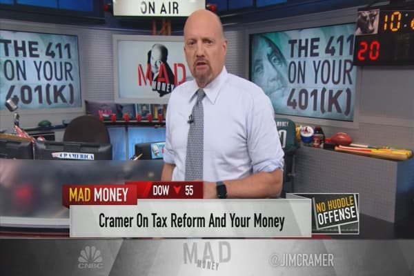 Cramer: Why sweeping tax reform will be hard to pass