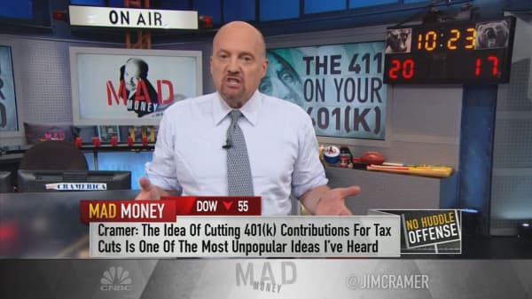 Cramer: The 401(k) debacle proves why sweeping tax reform will be hard to pass