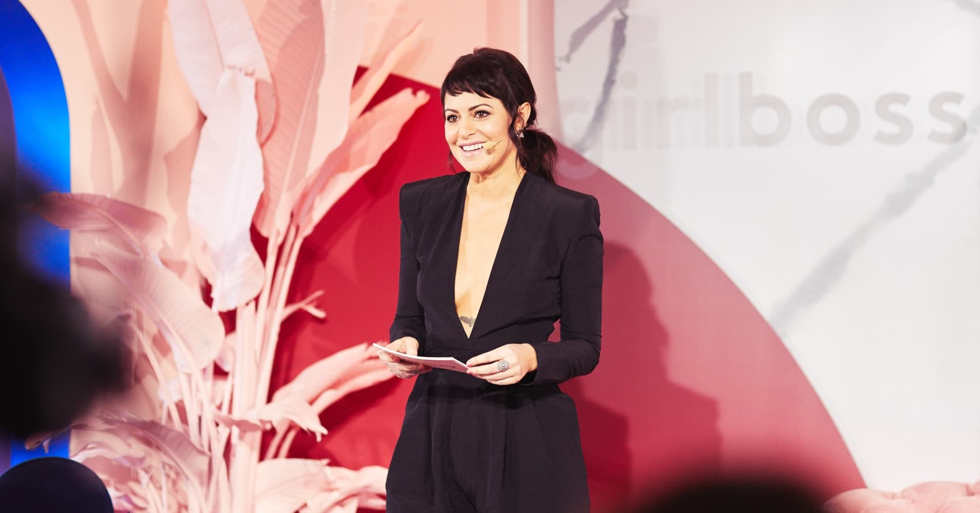 Sophia Amoruso at the inaugural Girlboss Rally in March 2017.