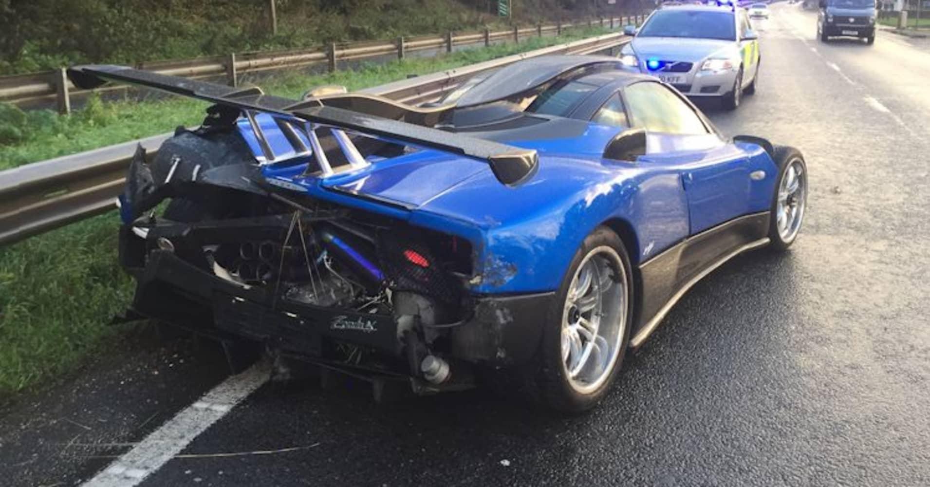 Pagani Zonda: 'One-off' $1.9 million supercar damaged in ...