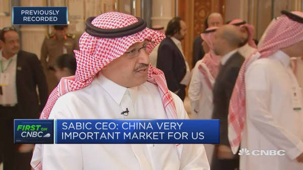 Saudi Arabia looking for growth opportunities with Russia: SABIC CEO