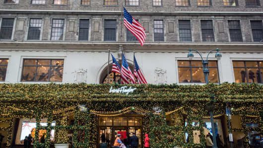 Lord & Taylor in New York.