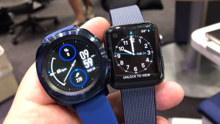 I still prefer the Apple Watch to the Gear Sport