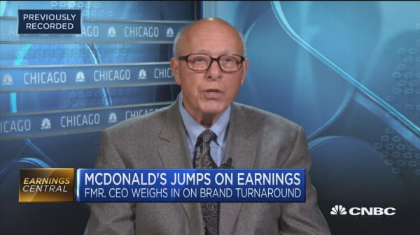 Former McDonald's CEO weighs in on the fast-food giant's turnaround plans