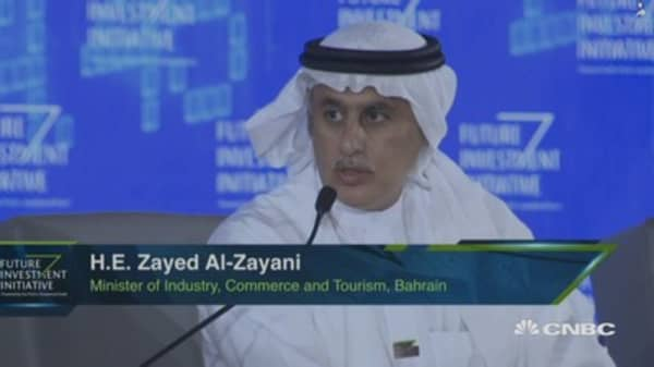 'We are diversifying our economy,' Bahrain commerce minister says